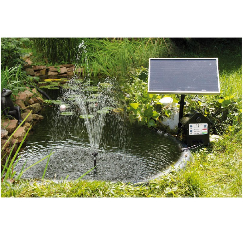 t i p solar teichpumpen set gartenteich solar pumpe. Black Bedroom Furniture Sets. Home Design Ideas